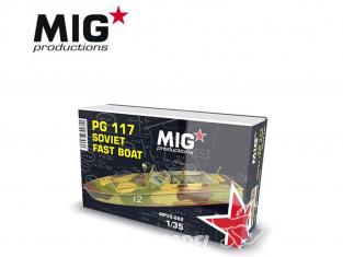 MIG Productions by AK MP35-282 Vedette rapide Soviétique PG 117 1/35