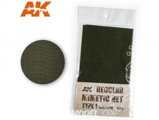 AK interactive ak8059 Filet de camouflage Type 1 Vert