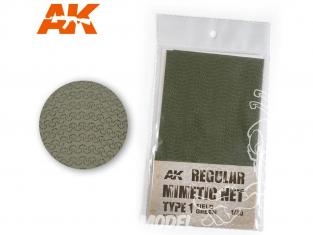 AK interactive ak8066 Filet de camouflage Type 1 Field Green