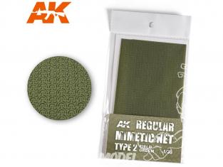AK interactive ak8067 Filet de camouflage Type 2 Field Green