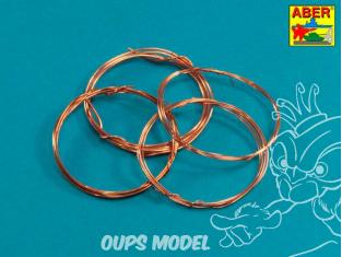 Aber ADZ-03 Set de fils (diamètre 0,5 0,7 0,9 1,1 mm, longueur 1 m chacun)