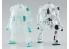 HASEGAWA maquette 64770 Mechatro Wego No. 12 Crystal & Crystal Mint 1/35