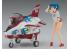 Hasegawa maquette avion 52187 Egg Girls Collection No.06 Sara Mayuki avec T-4 EGG PLANE