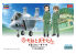 Hasegawa maquette avion 52184 EggPlane F-15 Eagle Easy Diorama Kit