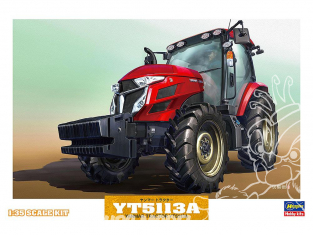 Hasegawa maquette agricole 66005 Tracteur Yanmar YT5113A 1/35
