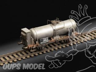 Italeri maquette locomotive 8706 Wagon citerne 1/87
