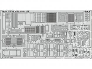 Eduard photodecoupe militaire 72684 M1070 & M1000 avec D9R Takom 1/72