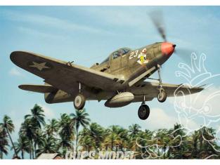 Brengun maquette avion BRP144011 P-39 D-F-K Airacobra 1/144