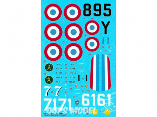 BERNA DECALS BD48-143 Aces on Bloch 152 C-1 1/48