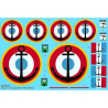 DECALQUES BERNA DECALS BD32-61 Avro lancaster in french service 1/32