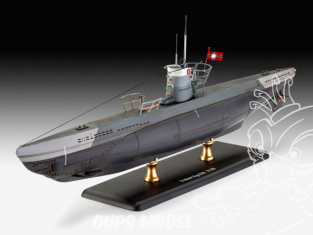 Revell maquette sous marin 65155 Model set Sous-Marin Allemand Type IIB (1943) 1/144