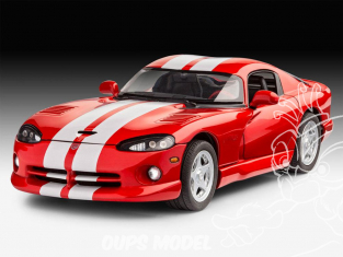Revell maquette voiture 67040 model set Dodge Viper GTS 1/25