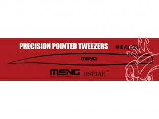 MENG MTS-036 Pince de précision bout pointu - Brucelles de précision