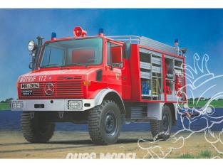 Revell maquette camion 07531 Schlingmann Unimog RW1 pompier 1/24
