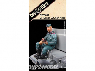 DAS WERK maquette militaire DWF002 Figurine de passager 1/35
