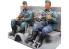DAS WERK maquette militaire DWF003 Figurine conducteur et passager 1/35
