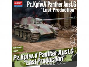 Academy maquettes militaire 13523 Pz.Kpfw.V Panther Ausf.G Last production 1/35