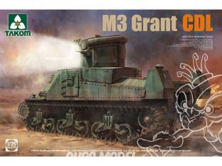Takom maquette militaire 2116 M3 Grant CDL Char moyen Britannique 1/35