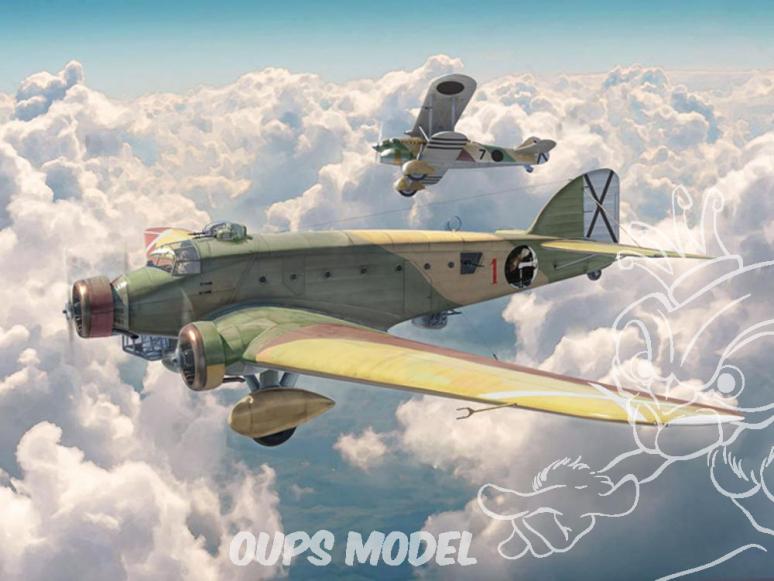 Italeri maquette avion 1388 SM.81 Pipistrello 1/72