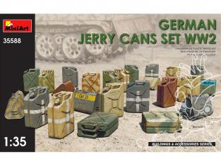 Mini Art maquette militaire 35588 Set Jerrycans Allemands WWII 1/35