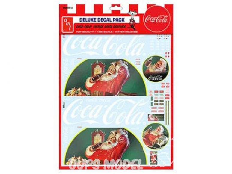 AMT décalques voiture MKA035 Décalques Coca Cola Vintage 1/25