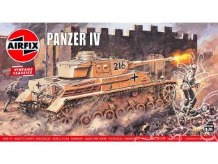 Airfix maquette militaire 02308V Vintage Classics Panzer IV F1/F2 1/76