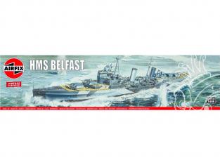 AIRFIX maquette bateau 04212V Vintage Classics HMS Belfast 1/600