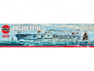 AIRFIX maquette bateau 04208V Vintage Classics HMS Ark Royal 1/600