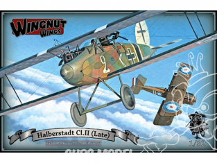 Wingnut Wings maquette avion 32062 Halberstadt Cl.II (Fin de production) 1/32