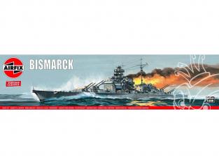 AIRFIX maquette bateau 04204V Vintage Classics HMS Bismarck 1/600