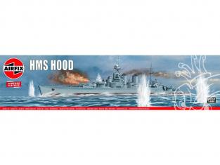 AIRFIX maquette bateau 04202V Vintage Classics HMS Hood 1/600