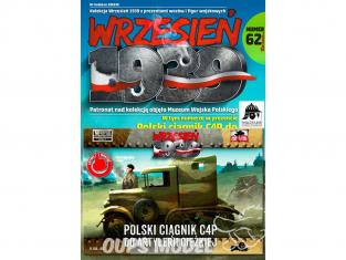First to Fight maquette militaire pl062 Tracteur d'artillerie lourde polonais C4P 1/72
