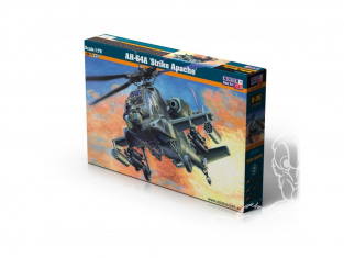 Master CRAFT maquette helicoptére 040369 AH-64A Strike Apache 1/72