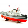 Billing boats bateau bois 708 HOGA Bateau remorqueur U.S. Pearl Harbor 1/50