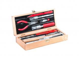 Excel outillage maquette 44289 Set de couteaux Jeu d'outils pour chemin de fer de luxe