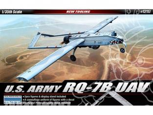 Academy maquettes avion 12117 Drone US Army RQ-7B UAV 1/35