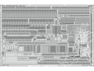 Eduard photodecoupe bateau 53237 CVN-65 USS Enterprise Partie 5 Tamiya 1/350