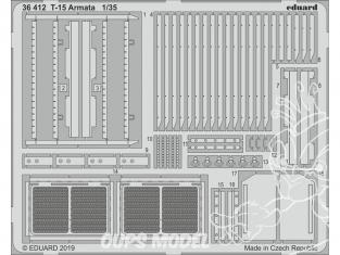 Eduard photodecoupe militaire 36412 Amélioration T-15 Armata Zvezda 1/35