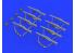 EDUARD Brassin super detaillage 635011 Pistolet mitrailleur PPSh-41 1/35