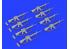 EDUARD Brassin super detaillage 635012 Fusils M16 Guerre du Golfe 1/35