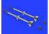 Eduard kit d'amelioration brassin 632132 Armement AIM-120A/B AMRAAM 1/32