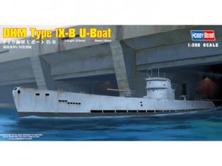 HOBBY BOSS maquette bateau 83507 DKM NAVY T. IX-B U-BOAT 1/350