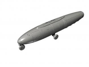 Cmk kit 7416 Palouste Mk.101 / 102 chariots de départ Jet Air et pod aéroporté 1/72