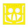 Eduard Express Mask EX647 Hunter F.6 Airfix 1/48