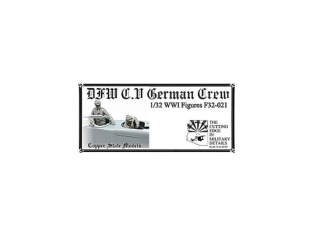 Copper State Models personel F32-021 Équipage allemand DFW C.V 1/32