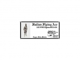 Copper State Models personel F32-030 As italien WWI 1/32