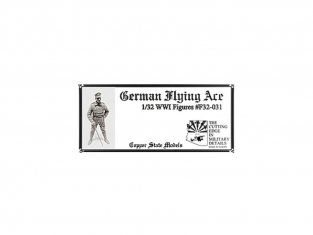 Copper State Models personel F32-031 As Allemand WWI 1/32