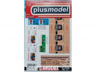 Plus Model 517 BOITE EN CARTONS a usage commercial II 1/35