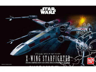 Revell maquette Star Wars 01200 BANDAI X-Wing Starfighter 1/72