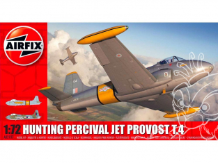 Airfix maquette avion A02107  Hunting Percival Jet Provost T.4 1/72
